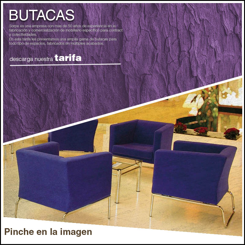 Tarifa Butacas