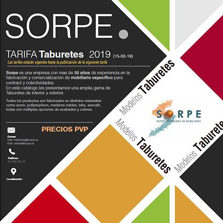 Tarifa Taburetes